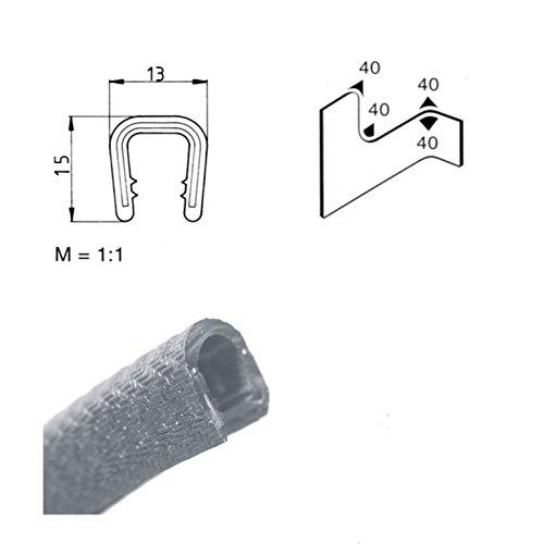 kantenschutz 6 8 mm hellgrau 6 l ngen ab 3 36 eur m keder kantengummi u profil spar baumarkt. Black Bedroom Furniture Sets. Home Design Ideas
