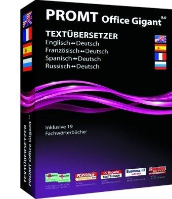 @promt Office 9.0 Gigant Deutsch, Englisch, Franz., Span. ,Russisch