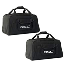QSC K12 Carry Travel Tote Bag for K12 Active Speaker Pair