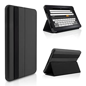Kindle Fire Lightweight Microshell Folio Case Cover By Marware Graphite Does Not Fit Kindle Fire HD