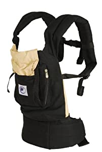 ERGObaby Original Collection Baby Carrier, Black/Camel