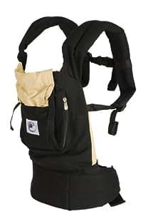 ERGObaby Original Collection Baby Carrier, Black/Camel (Older Version)
