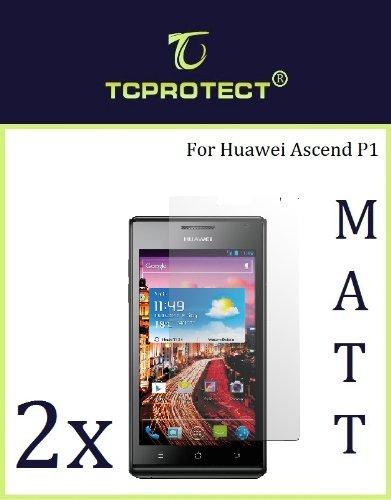 2x Huawei Ascend P1 Schutzfolie Anti Reflex Matt Huawei p1
