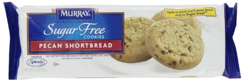 Murray Sugar Free Cookies Pecan Shortbread, 5.5-Ounce Packages (Pack Of 12)