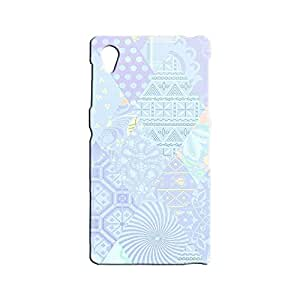 BLUEDIO Designer 3D Printed Back case cover for Sony Xperia Z1 - G7070