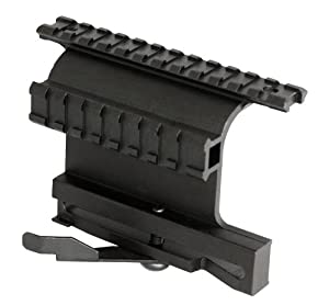 Aim Sports Ak Double Side Rail Mount Picatinny with Quick Release Lever by AIM Sports