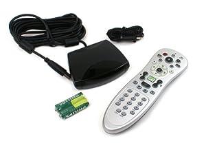 Genuine Microsoft RC1534034/00, OVU400307/00 Remote Control Bundle By DELL, For Microsoft Windows 7, Vista, And Media Center Edition, Compatible Dell Part Number: KF659