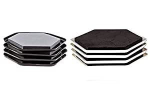 furniture sliders for all floors carpet wood tile move heavy and light furniture and. Black Bedroom Furniture Sets. Home Design Ideas