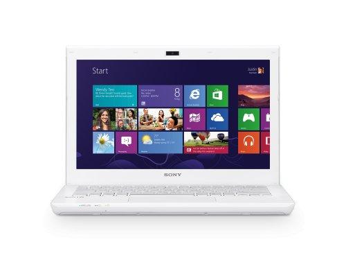 Sony SVS1313J1E notebook/portatile, colore: Bianco [Importato da Francia]