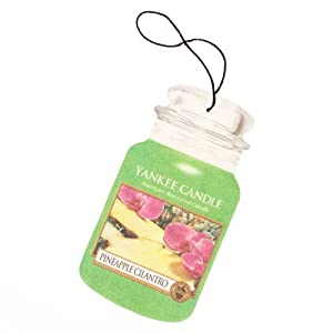 Yankee Candle® Pineapple Car Jar Air Freshener from Yankee Candle