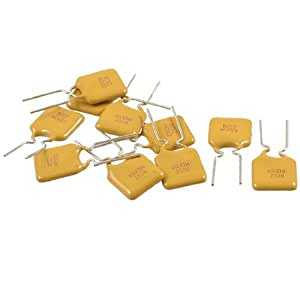 10 x Radial Leaded PPTC Resettable Fuse 30V 1.35A Polyswitch
