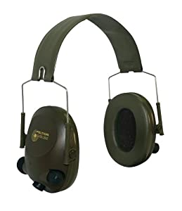 3M Peltor Tactical 6-S Slim Line Electronic Headset with Audio Input Jack, Olive... by 3M