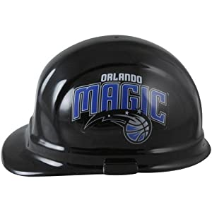 NBA Orlando Magic Black OSHA Professional Hard Hat by WinCraft