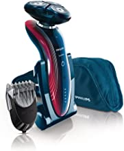 Philips - RQ1175/32 - Rasoir Wet & Dry Senso Touch 2D avec Accessoire Tondeuse barbe Click-on styler