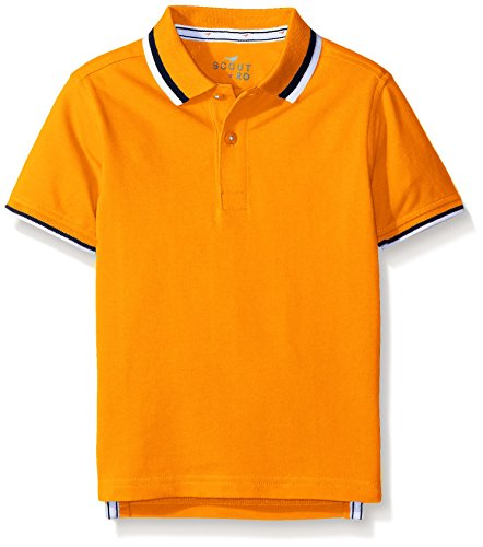 scout-ro-boys-short-sleeve-pique-polo-shirt-aphid-orange-8