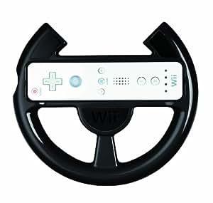 Official Nintendo Wii Comfort Racing Wheel - Black