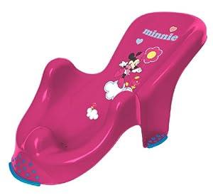 Disney - Asiento para la bañera (0 a 12 meses), diseño Minnie, color rosa en BebeHogar.com