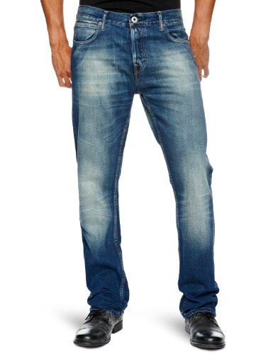 Firetrap Rom-G2 Straight Men's Jeans Fine Wash Long W30INxL34IN