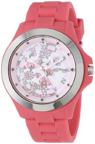 Ed Hardy Women's MT-PK Mist Pink Watch