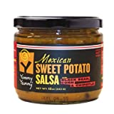 Yummy Yammy® Brand Hot Mexican Sweet Potato Salsa, with Black Bean, Corn & Chipotle; No Fat, No Sweetener, Thick & Chunky, Naturally Delicious & Nutritious