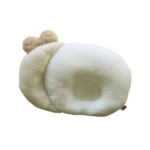 Snail style Sleeping Pillow 1pcs _100% Organic Cotton Baby Prevent Flat Head