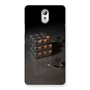 Ajay Enterprises Game SilverBlack Back Case Cover for Lenovo Vibe P1M