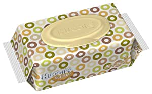 Huggies Soft Skin Baby Wipes Soft Pack, 64-Count (Pack of 8)