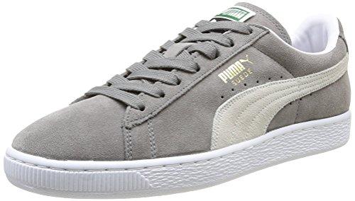 Puma 356568 Sneaker Suede Classic, Uomo, Grigio (Steeple Gray/White), 40