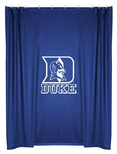 Duke Blue Devils COMBO Shower Curtain & Valance Set - Decorate your Shower and Bathroom Window & SAVE ON BUNDLING! at Amazon.com