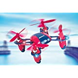 NANO DRONE | UDIRC U840 - WORLDS SMALLEST QUAD COPTER - RADIO CONTROL SYSTEM (4CH QUADCOPTER WITH 2.4G) - RED