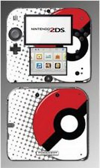 Blazers Skins - Pokeball Special Edition Omega Ruby Alpha Sapphire Game Skin Cover Nintendo 2DS (2ds Omega compare prices)