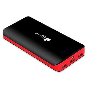 EC Technology 22400mAh モバイルバッテリー 大容量 モバイルバッテリー 3ポート スマホ急速充電器