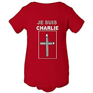 Je Suis I Am Charlie Support France One Piece Baby Bodysuit