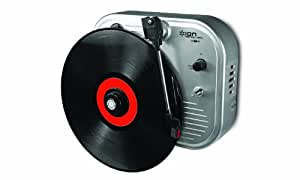 Ion IT27 Vertical Vinyl Wall-Mounted Turntable