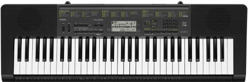 CASIO 電子キーボード 61標準鍵 ベーシックタイプ ブラック/シルバー CTK-2200