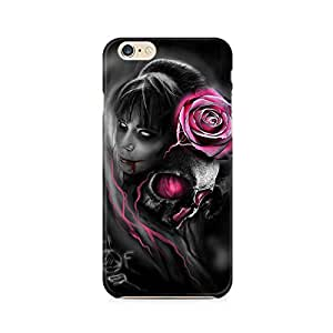 Mobicture Girl Cartoon Premium Printed Case For Apple iPhone 6/6s