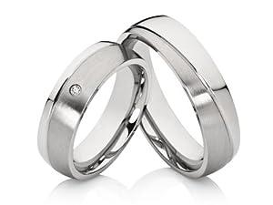 2 Edle Hochzeitsringe Trauringe Eheringe Verlobungsringe inkl. Gravur