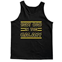 Tank Top: Best Dad In the Galaxy Father's Day