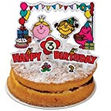 Mr Men Birthday Cake Topper