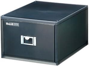 Like-it DVDファイルユニット Life Module ブラック LM-40