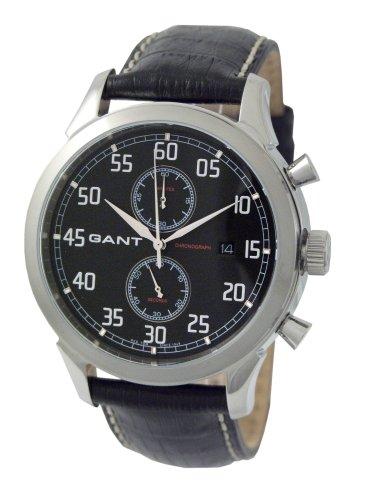 Gant GW10131 - Orologio da polso da uomo, cinturino in pelle colore nero