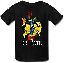 JU-LIAN Kid39s Detective Comics Dr Fate Hector Hall Cotton T-shirts