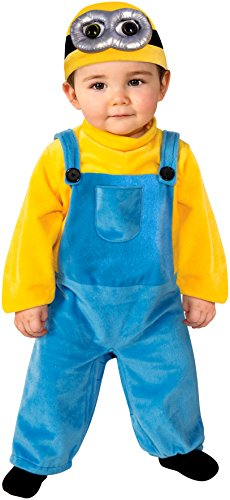Rubie's Costume Co Baby Boys' Minion Bob Romper Costume