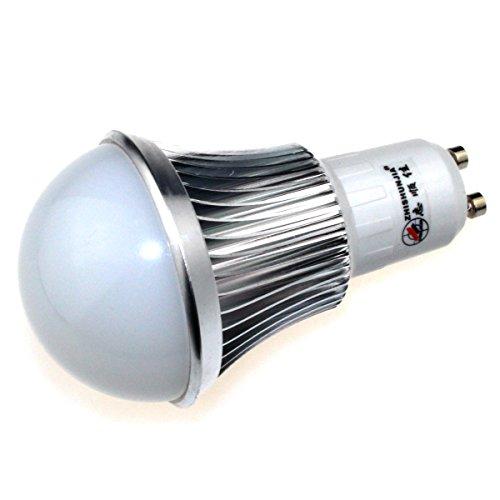 Zhishunjia Gu10 8W 680Lm 3000K 16 X Smd 5630 Led Warm White Light Bulb - Silver + White (85~265V)