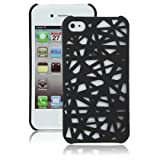 41l58 4XAdL. SL160  Black Birds Nest Case for Apple iPhone 4, 4S (AT&T, Verizon, Sprint)