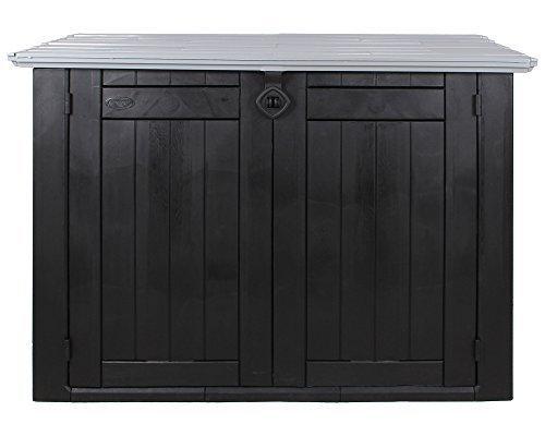 keter 6028 store it out max universalbox f r m lltonnen und sonstiges anthrazit grau keter. Black Bedroom Furniture Sets. Home Design Ideas