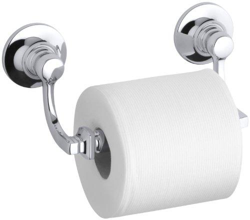 KOHLER K-11415-CP Bancroft Toilet Tissue Holder, Polished Chrome