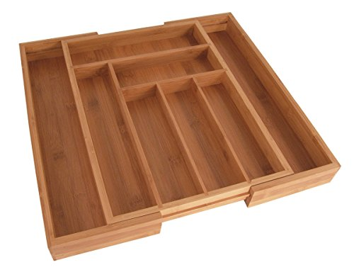 Totally Bamboo Totally Bamboo Expandable Utility Drawer Organizer