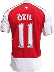 サッカー レプリカユニフォーム 2015-16 アーセナル ホーム エジル#11 大人用 上シャツのみ