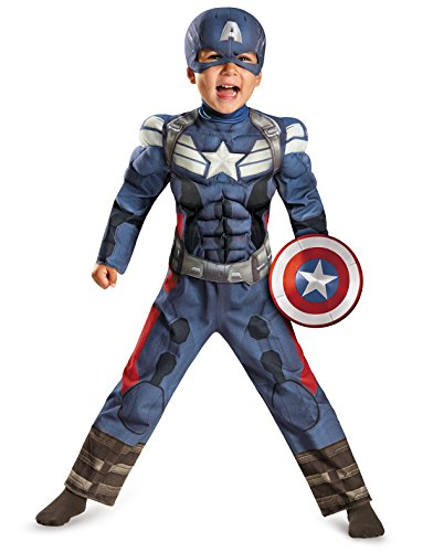 Disguise Marvel Captain America The Winter Soldier Movie 2 Toddler Costume